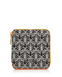 Neon Small Iphis Printed Zip Around Wallet Women's Liberty London