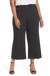 City Chic Plus Size Women's Elegant Belted Culottes Black