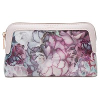 Ted Baker Florisa Illuminated Bloom Makeup Bag Purple
