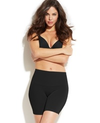 Maidenform Light Control Slim Waister At The Waist Thigh Slimmer Dm2550 Black
