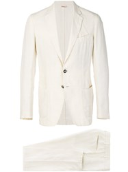Dell'oglio Two Piece Suit Nude And Neutrals