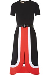 Michael Kors Color Block Wool Dress