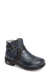 Alegria Women's Zoey Ankle Boot Blue Romance Leather