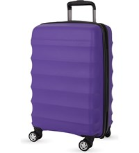 Antler Juno B1 Four Wheel Cabin Case Purple