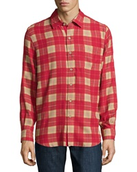 Nat Nast Scoundrel Plaid Sport Shirt Holly