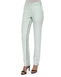 Opening Ceremony Moodie Crepe Trousers Ceramic Green