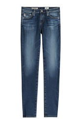 Adriano Goldschmied Cropped Skinny Jeans Gr. 24