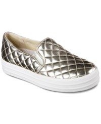 Skechers Women's Double Up Duvet Casual Sneakers From Finish Line Gold Quilted