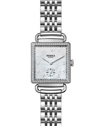 Shinola The Cass 28Mm Bracelet Strap Watch With Diamonds