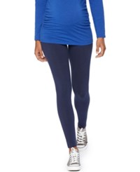 Motherhood Maternity Leggings Navy