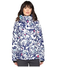 Roxy Jetty Jacket Butterfly Women's Coat Pink