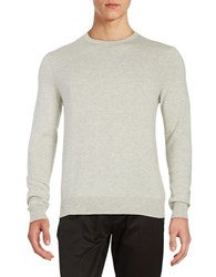 Black Brown Long Sleeve Crewneck Sweater Stone Wash