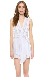 Alice Mccall Dancing On My Own Playsuit White
