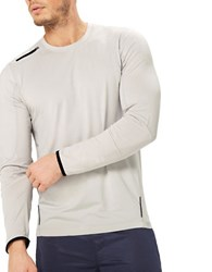 Mpg Long Sleeve Athletic Tee Grey
