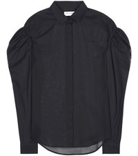 Saint Laurent Cotton Shirt Black