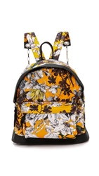 Msgm Quilted Backpack Orange