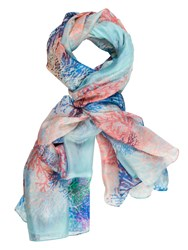 Chesca Branch Printed Scarf