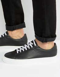 Kg By Kurt Geiger Donell Leather Trainers Black