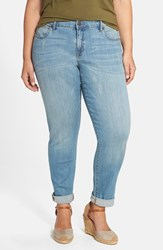 Plus Size Women's Cj By Cookie Johnson 'Glory' Stretch Slim Boyfriend Jeans Club