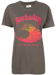 Zoe Karssen Barbados T Shirt Grey