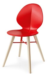 Calligaris Basil Mw Chair Red