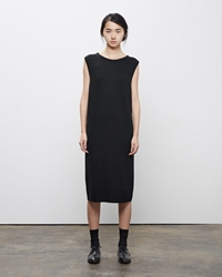 La Garconne Moderne Vintage Knit Dress Black