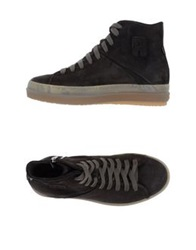 Ruco Line High Tops And Trainers Dark Brown