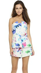 Finders Keepers One Step Ahead Romper Floral Light