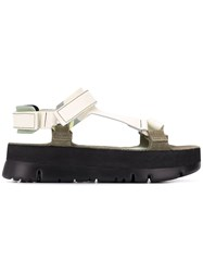 Camper Oruga Up Sandals Neutrals