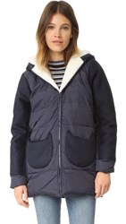 Paul And Joe Sister Cold Cat Coat Marine