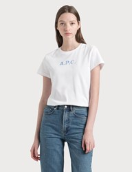 A.P.C. Stamp T Shirt White