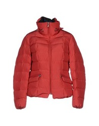 Piero Guidi Down Jackets Brick Red