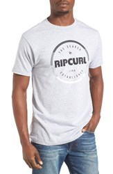 Rip Curl Men's Style Master Graphic T Shirt Athletic Heather