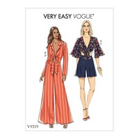 Vogue 'S Top And Shorts Sewing Pattern 9319