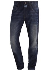 Petrol Industries Tamerton Relaxed Fit Jeans Wild West Dark Blue Denim