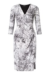 James Lakeland 1 2 Moon Print Dress White