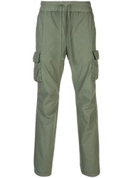 John Elliott Sateen Cargo Pants Green