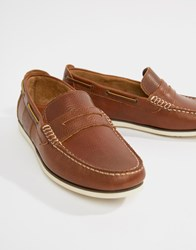 Barbour Keel Loafers In Brown
