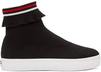 Opening Ceremony Black Bobby High Top Sneakers