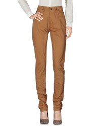 Rick Owens Drkshdw By Casual Pants Camel