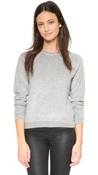 Joe's Jeans Terry Chantal Sweatshirt Heather Grey