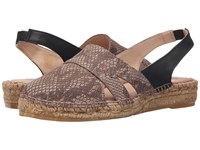 Eric Michael Emily Brown 1 Women's Wedge Shoes