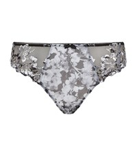 Fantasie Floral Embroidered Briefs Female Black