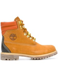 Timberland Lace Up Hiking Boots Brown