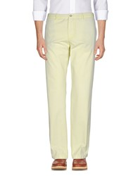 Boss Black Trousers Casual Trousers Light Yellow