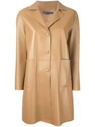 Simonetta Ravizza Love Coat Brown