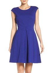 Vince Camuto Women's Ponte Fit And Flare Dress