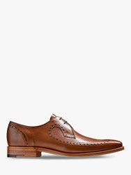 Barkers Woody Goodyear Welt Brogue Derby Shoes Walnut