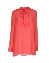 Scee By Twin Set Blouses Fuchsia