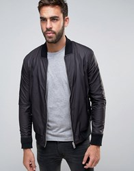 Boss Orange By Hugo Reversible Bomber Jacket Black